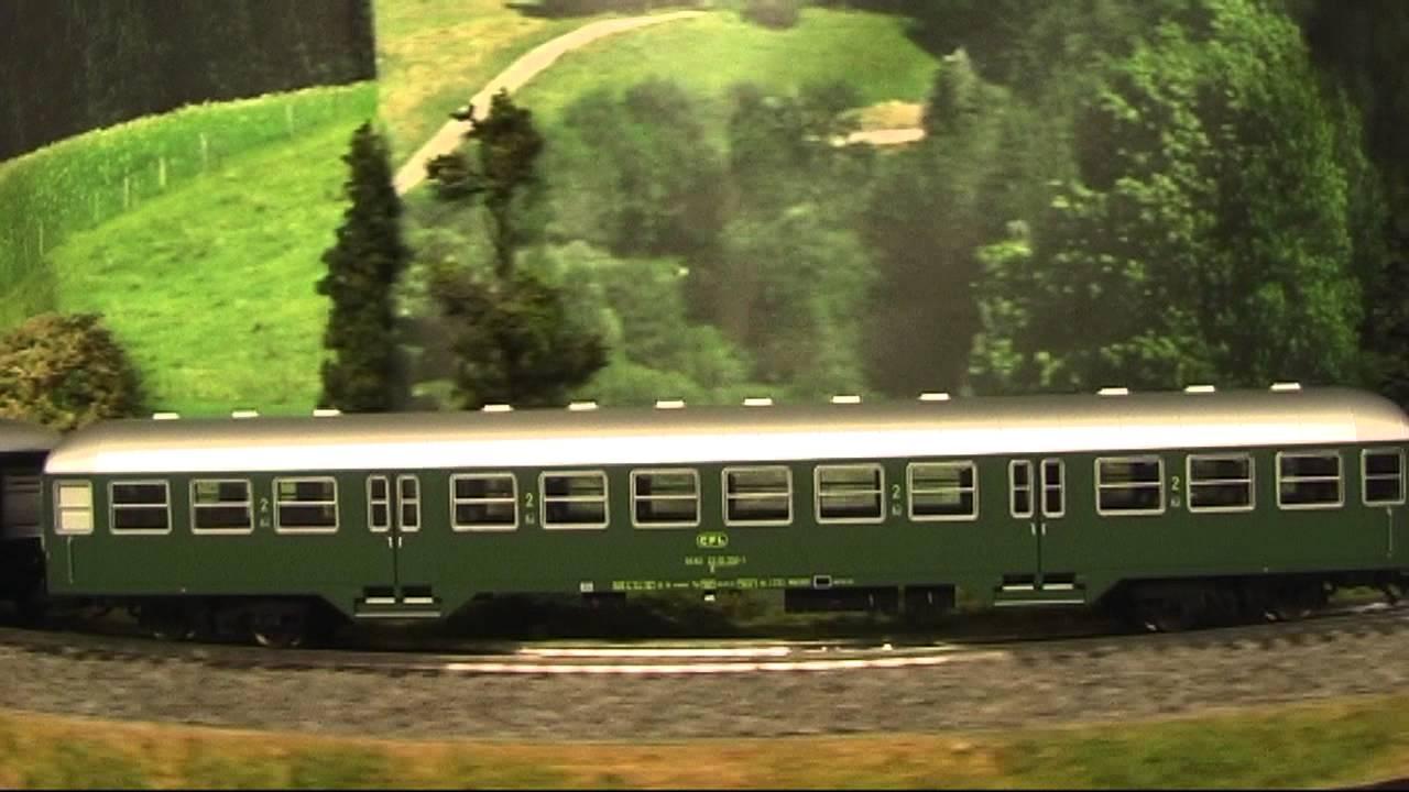 Modellbahn-Neuheiten (437) Märklin 43813 Wagenset CFL