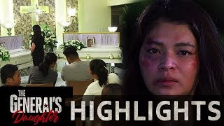 Rhian sneaks at the burial of Elai and Isabelle | The General's Daughter (With Eng Subs)