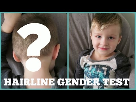 Hairline Gender Test | Baby #2