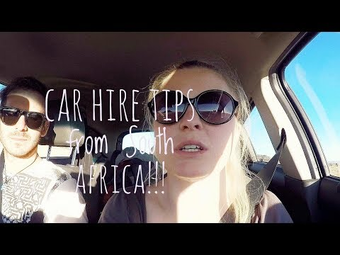 DRIVING AROUND SOUTH AFRICA AND LESOTHO WITH CAR HIRE TIPS! VLOG
