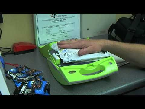 First Aid Kit and Zoll AED Plus PT2