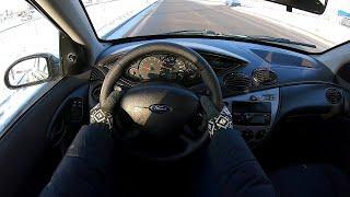 2004 ford focus POV test drive