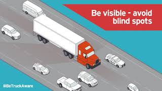Commercial Vehicle Dashcam View of Unsafe Driving