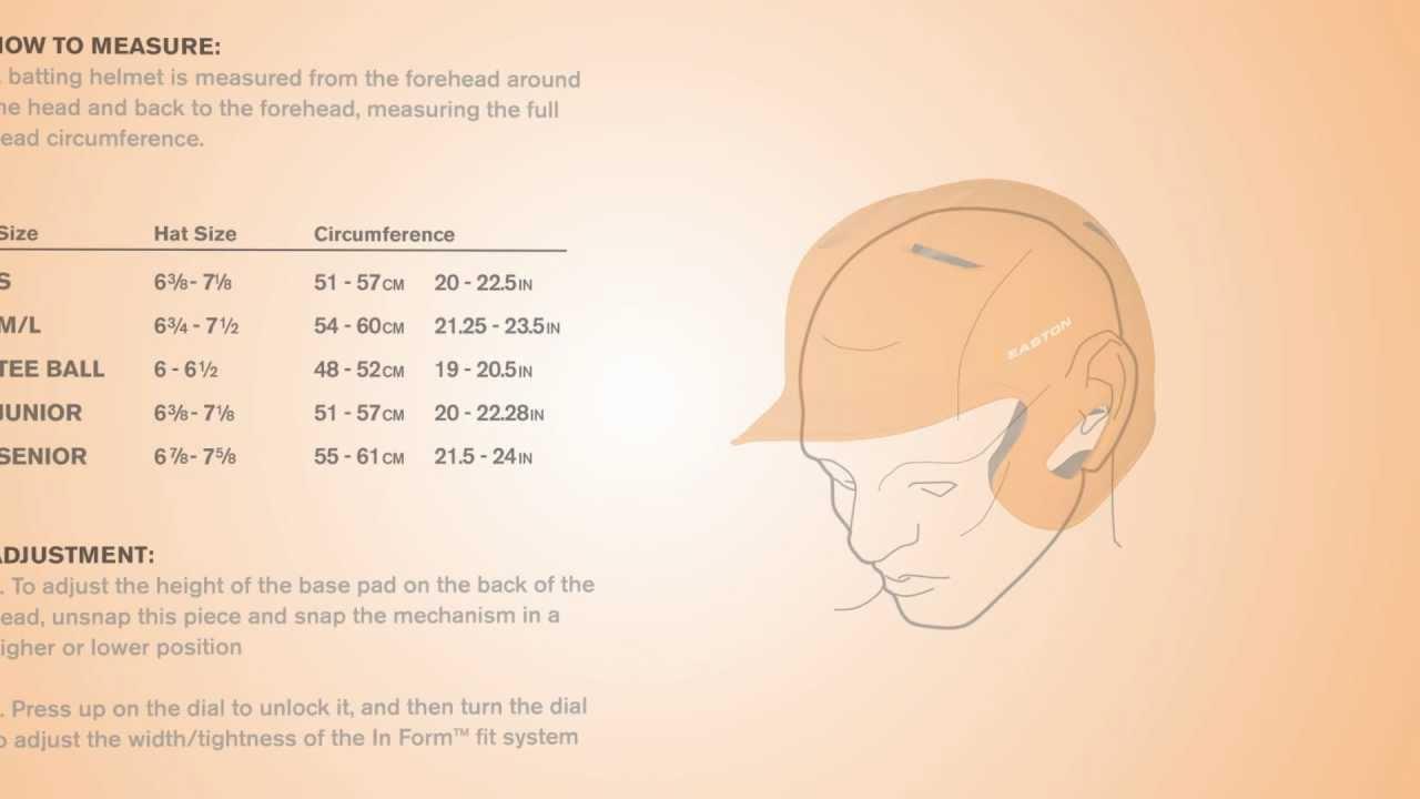 also easton batting helmet sizing youtube rh