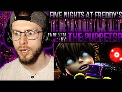 """Vapor Reacts #841 [SFM] FNAF ANIMATION """"The One You Shouldn't Have Killed"""" by The PuppetGP REACTION"""