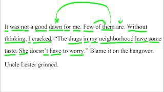 Большой урок английского языка - Работа с текстом #3