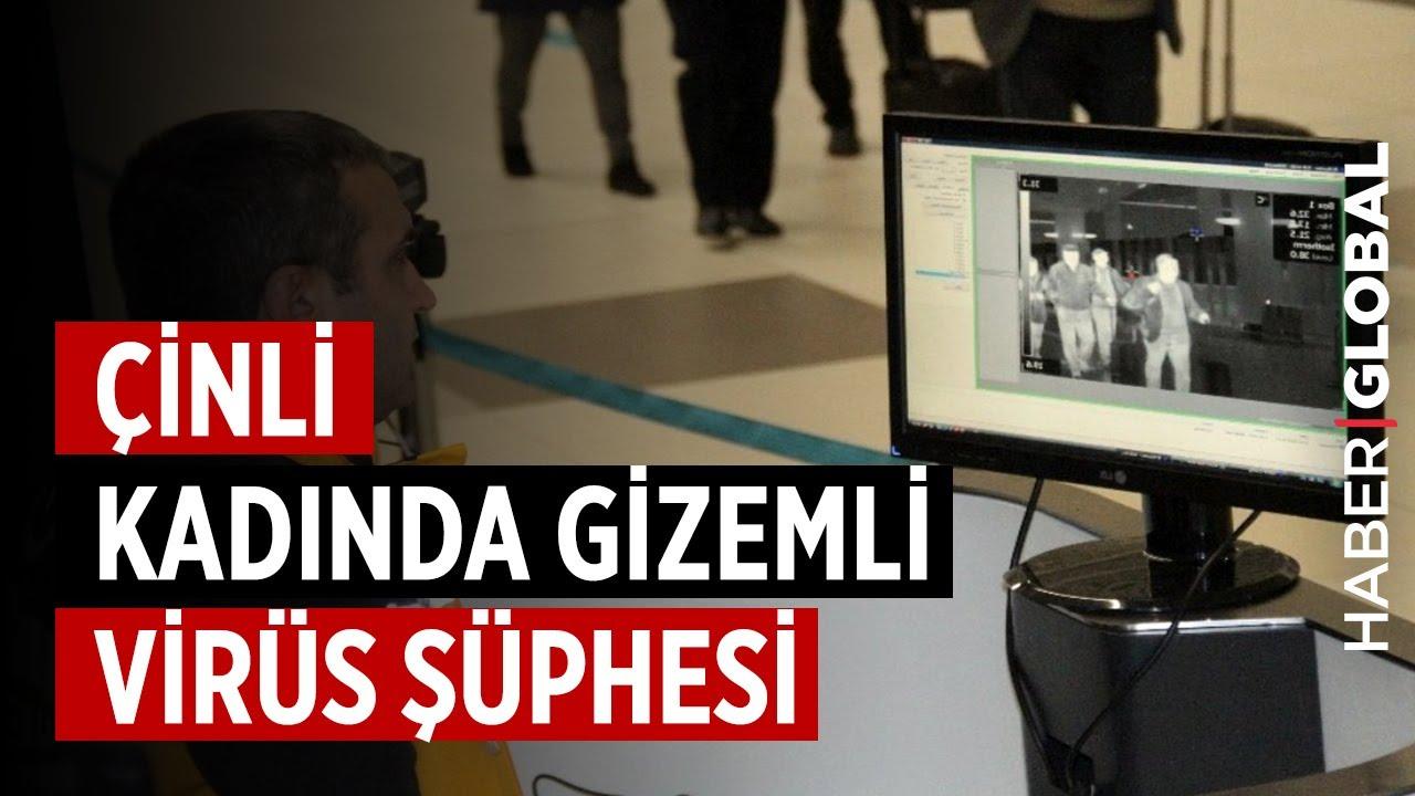 İstanbul'da Çinli Kadında Korona Virüsü Şüphesi