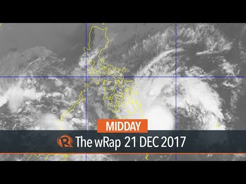 PAGASA: Be on alert, Tropical Storm Vinta 'no joke'
