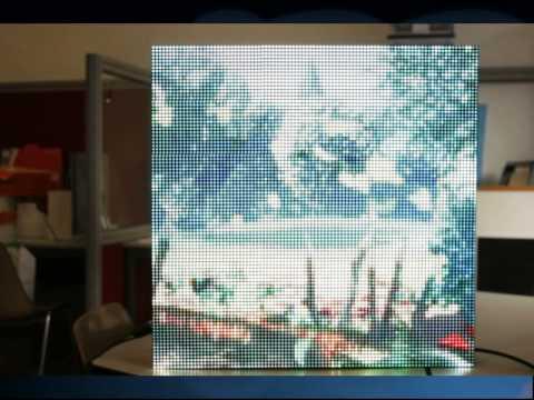 Imagiled 96x96 Pixels Real Time Usb Rgb Full Color Led