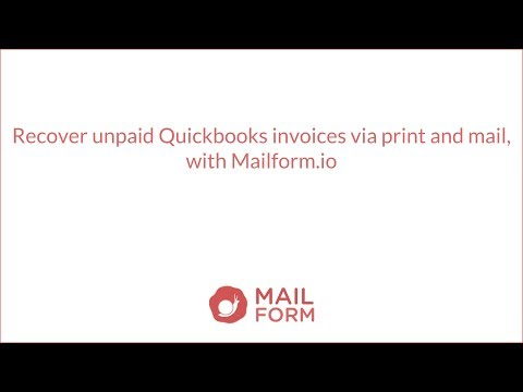 Easily recover unpaid invoices