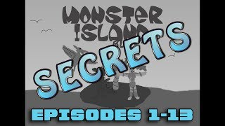 Monsters Island Buddies SECRETS Ep 1-13 (55k Subs Special!)