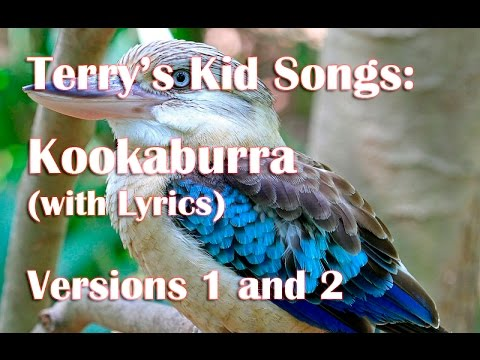Kookaburra Sits In The Old Gum Tree Ukulele Song (with Lyrics) For Kids by Terry Carter