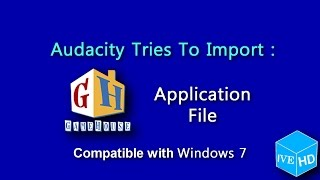 {EARRAPE WARNING} Audacity - Tries To Import Gamehouse Application File