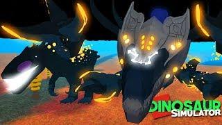 Dinosaurier-Simulator (Roblox) - Star Destroyer Megavore VS. Pech schwarz Terror! | (#130) (Gameplay)