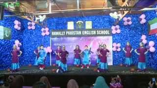 "Beautiful Song "" Buhe Bariyan "" by Students of Hawally Pakistan English School Kuwait ,"
