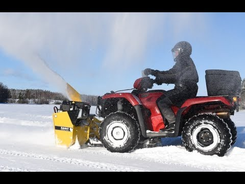 RAMMY Snowblower 120 ATV - Rammy