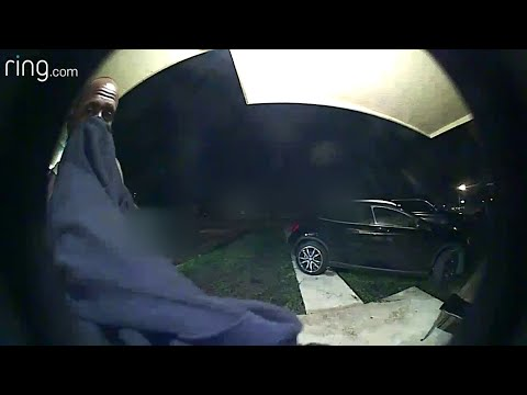 Criminal caught on camera attempting to break into Miami Gardens home