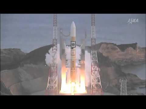 Launch of JAXA HIIA-30 carrying the Astro-H telescope from Tanegashima Space Center