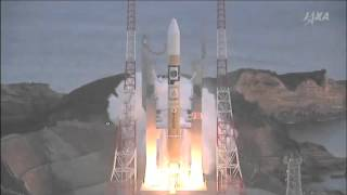 Launch of JAXA HIIA-30 carrying the Astro-H telescope from Tanegashima Space Center