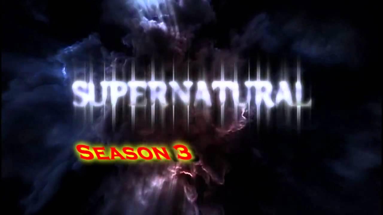 supernatural season 1 ao season 6 logos youtube
