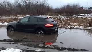 Порше Макан В Грязи ! Porsche Macan