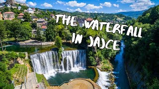 The Waterfall in Jajce | Bosnia and Herzegovina
