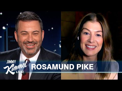 Rosamund Pike on Crazy River Rafting Trip & Golden Globe Nomination