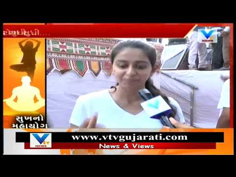 'Char Bangdi' Fame Kinjal Dave Performs Yoga & Encourages Everyone To Use Its Benefits | Vtv