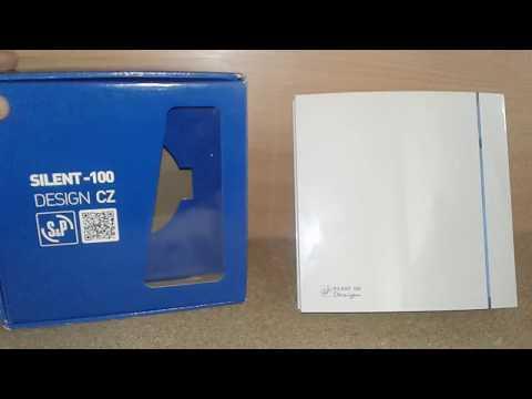 Подключение,  тест и обзор вентилятора Soler & Palau Silent 100 Desigh 3 C