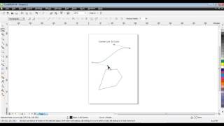 Learn CorelDraw Tutorial In Hindi Spl Tip On Convert Line To Curve