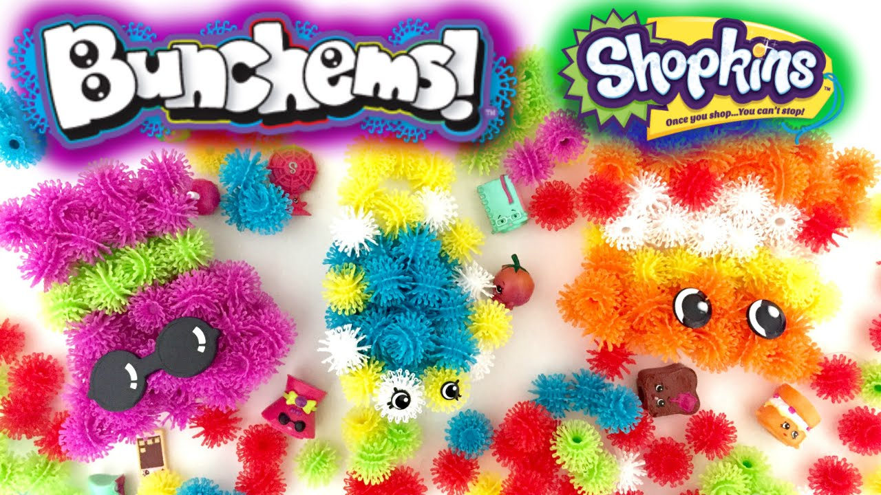 Shopkins bunchems squishy balls of fun i season 3 12 pack opening