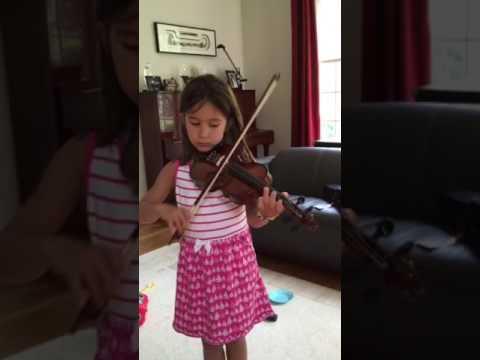 Vanessa, violin, 6 years old, NJAOM
