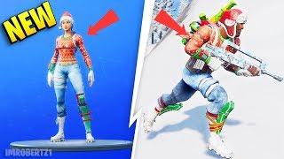 Fortnite Shop TODAY Nog Ops Yuletide Ranger Christmas Skins