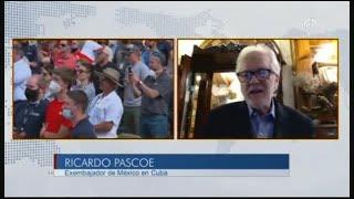 Preocupa que visita de AMLO a EU sea tan acotada a los intereses de Trump: Ricardo Pascoe