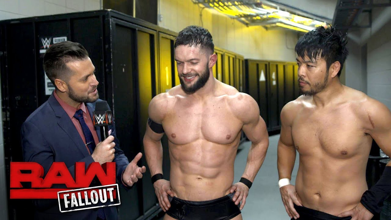 Finn Bálor and Hideo Itami look back on their storied history: Raw Fallout, Dec. 18, 2017