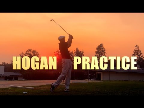BEN HOGAN GOLF SWING PRACTICE