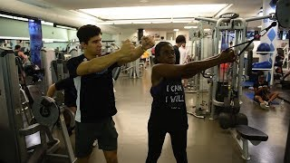 Working on Campus | Personal Trainer Andre Gomez-Demine
