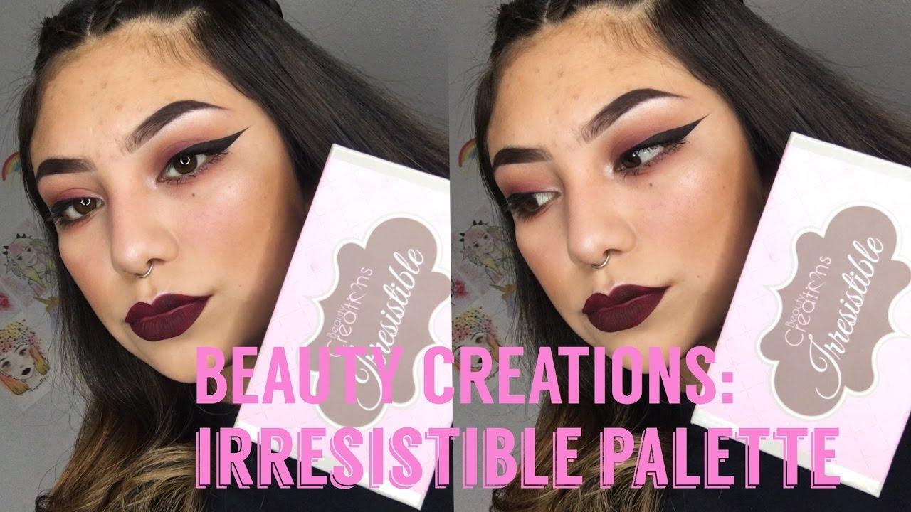 Beauty Creations Irresistible Palette Rewiev Hushshopcom Youtube Tease Me Eyeshadow