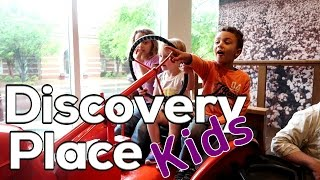 Discovery Place Kids - A day OFF the farm.