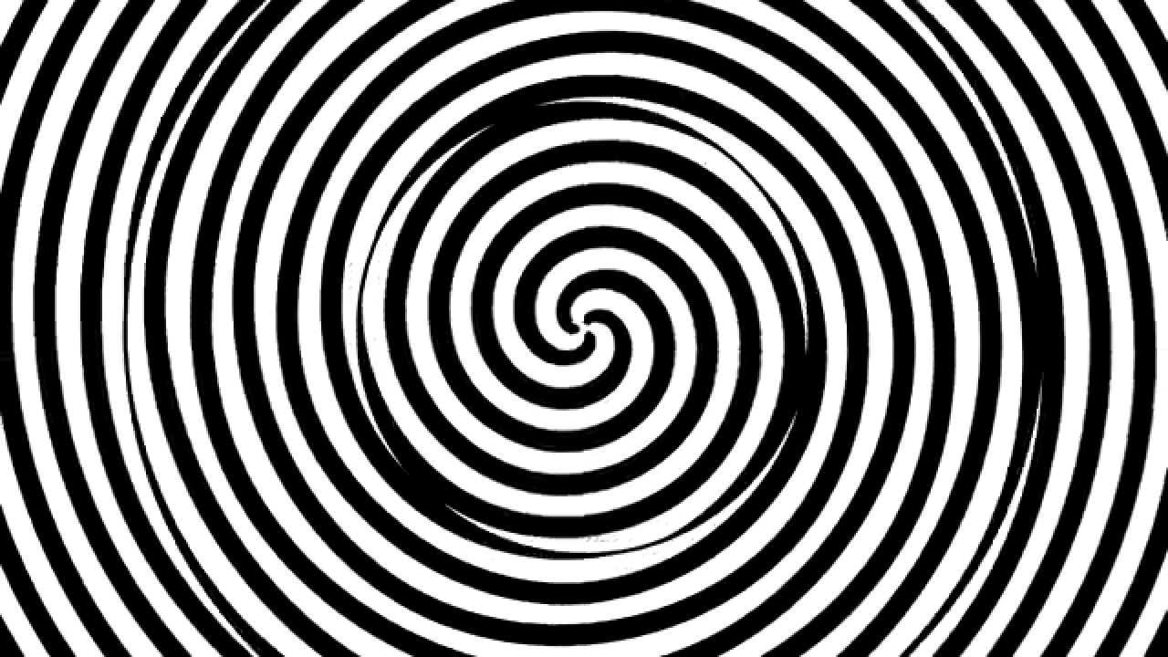 Animated black and white spiral vortex background 2 youtube