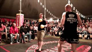 Mark Gilby fights contender - Outback Fight Club - Wynnum 2015