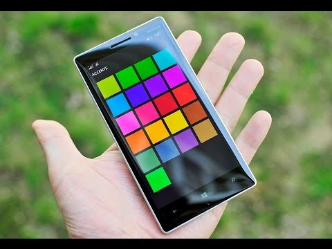 Nokia Lumia 930 unboxing and OS tour