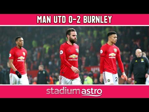 Manchester Utd 0 - 2 Burnley   EPL Highlights   Astro SuperSport