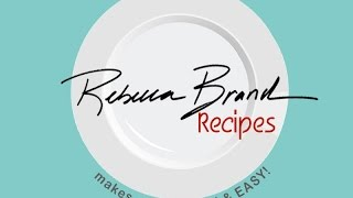 Mexican Tacos, Salsa, Guacamole Tv Show  Rebecca Brand Recipes