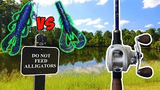 Bandito Bug VS Krackin' Craw!!! | Bass Fishing with Googan Baits!