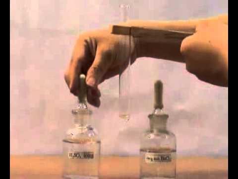 Phản ứng hóa học Bari Clorua tác dụng với Axit Sunfuric