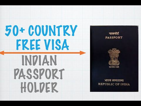 Visa Free countries for Indian passport holder | Indians can travel without Visa