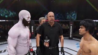 Kratos vs. Bruce Lee (EA Sports UFC 3) - CPU vs. CPU