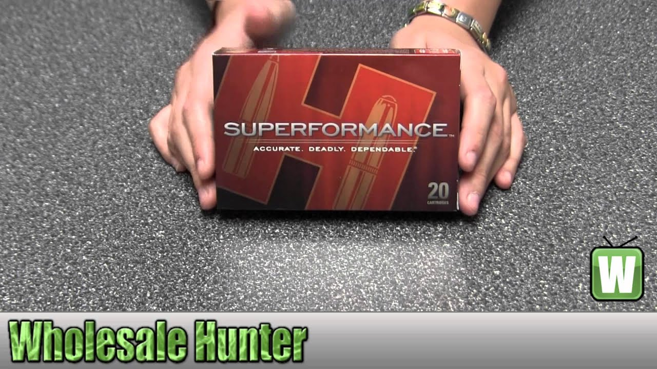 Hornady 270 Winchester 130gr SST Superformance Per 20 80543 Unboxing
