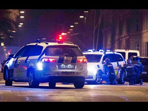 Police in Copenhagen surround location where man shot dead